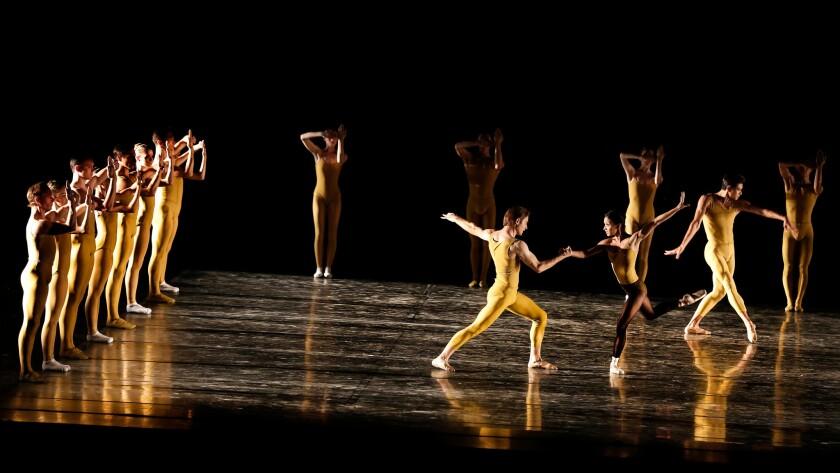 "Houston Ballet perform's ""Artifact Suite."""