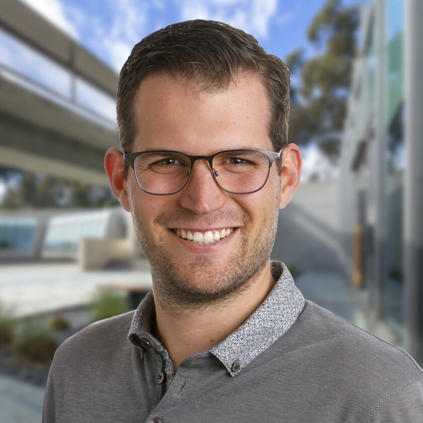 Michael Erb will speak as part of the Scripps Research Front Row Lecture Series online Wednesday, Oct. 14.