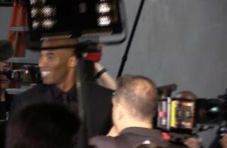 Watch: Kobe Bryant arrives at Staples Center for final game of his career