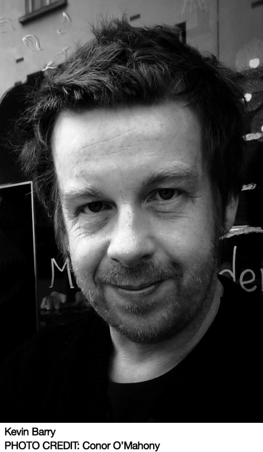"""Kevin Barry's new book is """"Night Boat to Tangier."""""""