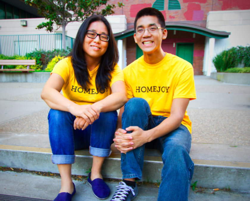 Siblings Adora and Aaron Cheung are the co-founders of home-cleaning company Homejoy.