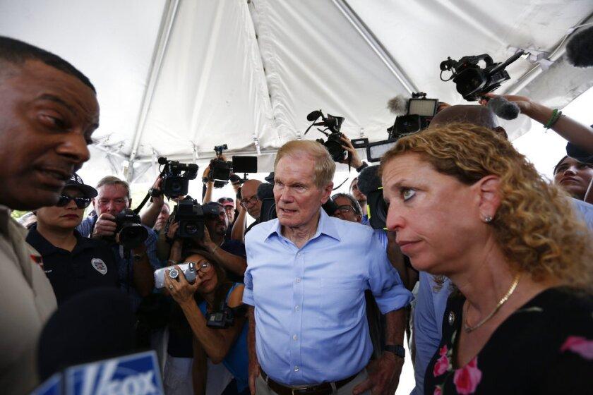 Bill Nelson,Debbie Wasserman Schultz