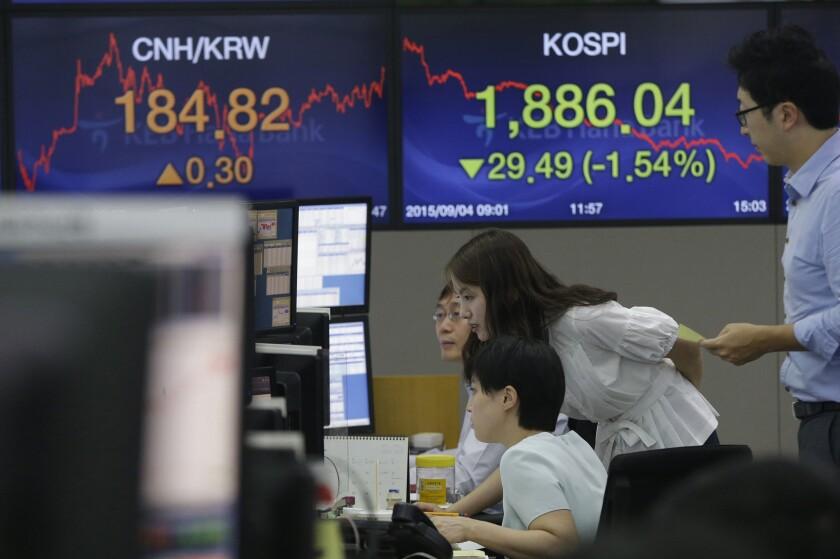 Korean traders