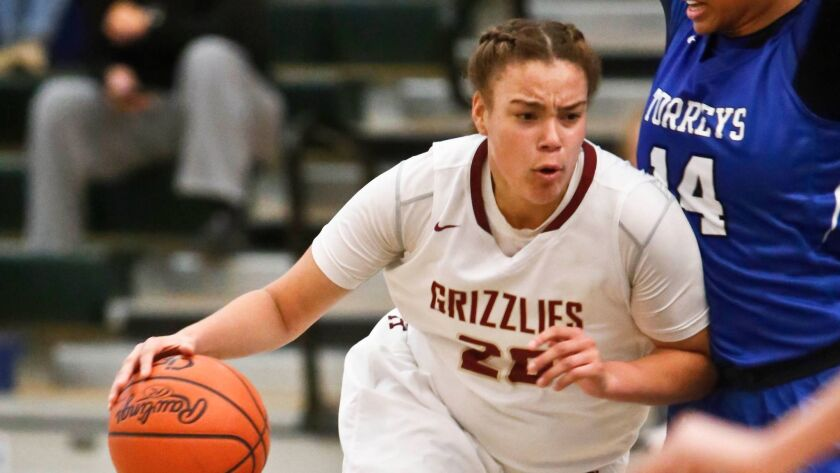 Mission Hills senior Khayla Rooks scored 15 of her game-high 20 points in the fourth quarter.