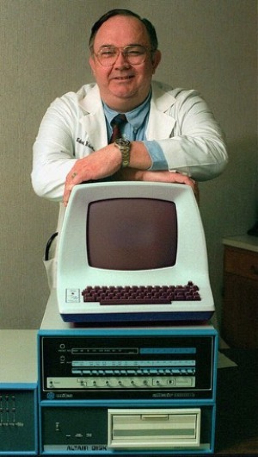 Henry Edward Roberts designed the Altair 8800. After selling his firm, he became a physician.