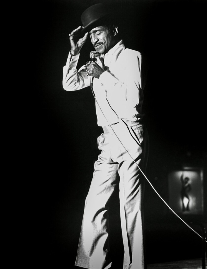 Sammy Davis Jr. brought his humor and music to the Circus Maximus stage on Nov. 2, 1981.