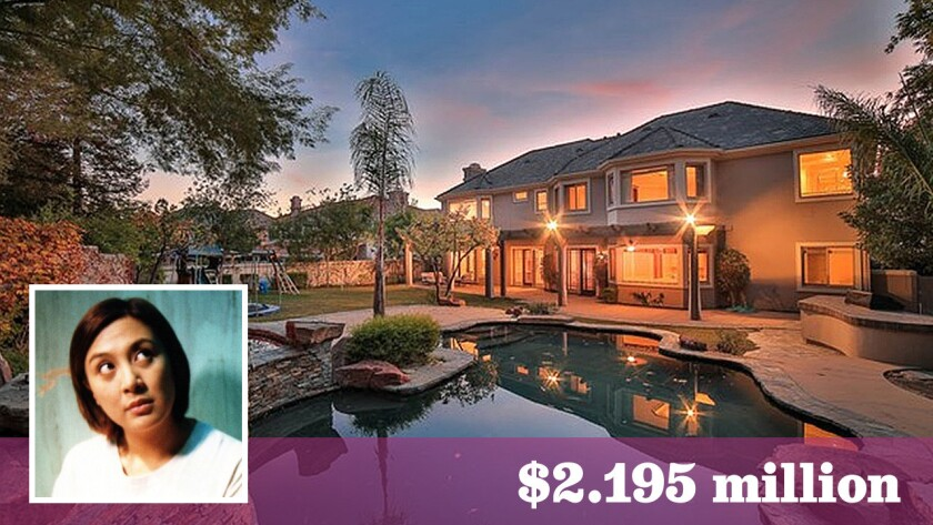 The Filipino actress-singer-television personality bought the house six years ago for $2 million.