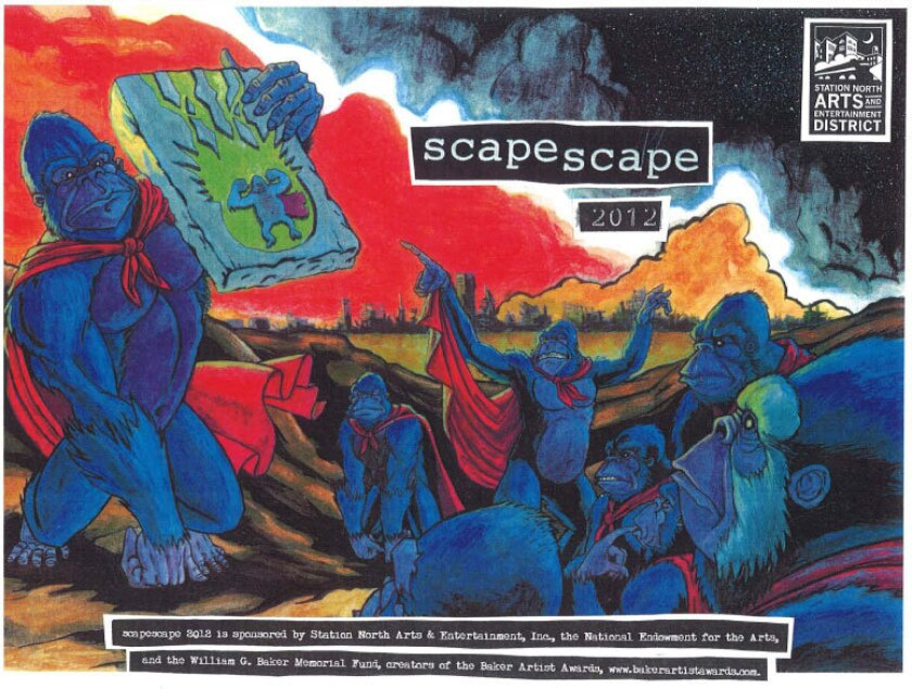 Scapescape 2012 will take place in Station North Labor Day weekend.