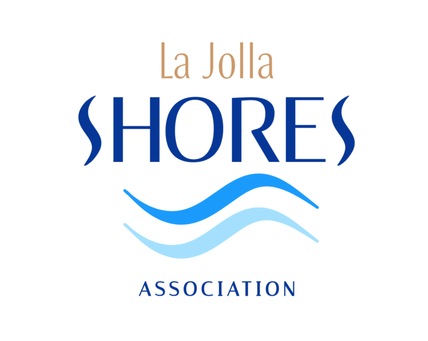 The La Jolla Shores Association approved this design for its new logo.