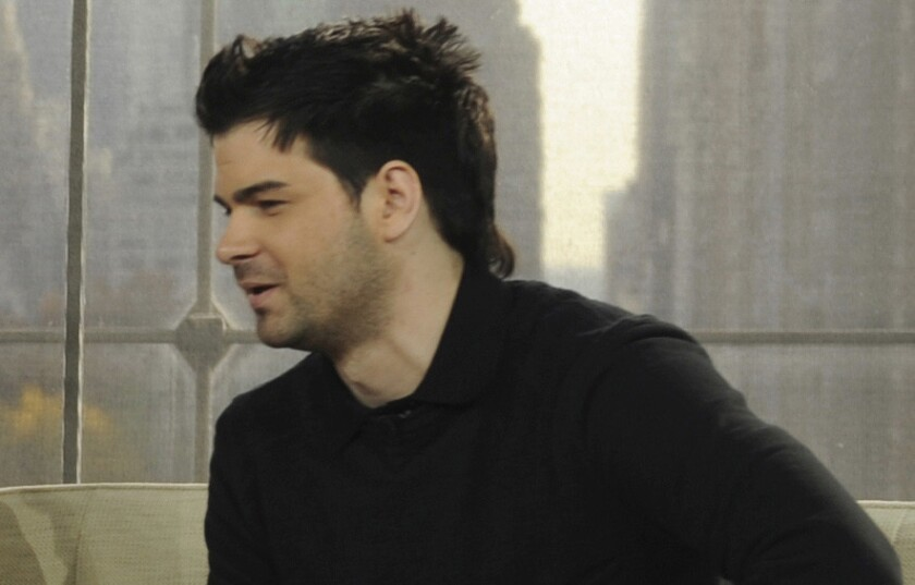 "Hunter Moore appears on Anderson Cooper's talk show in 2011. Moore, the operator of a ""revenge porn"" website, pleaded guilty to federal computer hacking and identity theft charges."