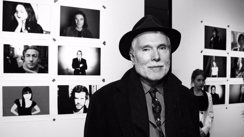 Glenn O'Brien attends Mike Figgis' 'SoHo Composites Number 2' exhibition opening in New York on Jan. 22, 2009.