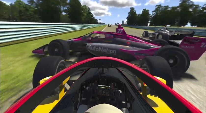 IndyCar Virtual Racing