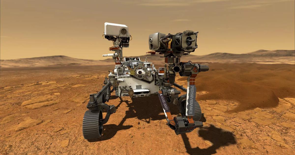 """Tech :  La NASA s'apprête à rechercher la vie ancienne sur Mars avec de puissants """" yeux """" de  infos , tests"""