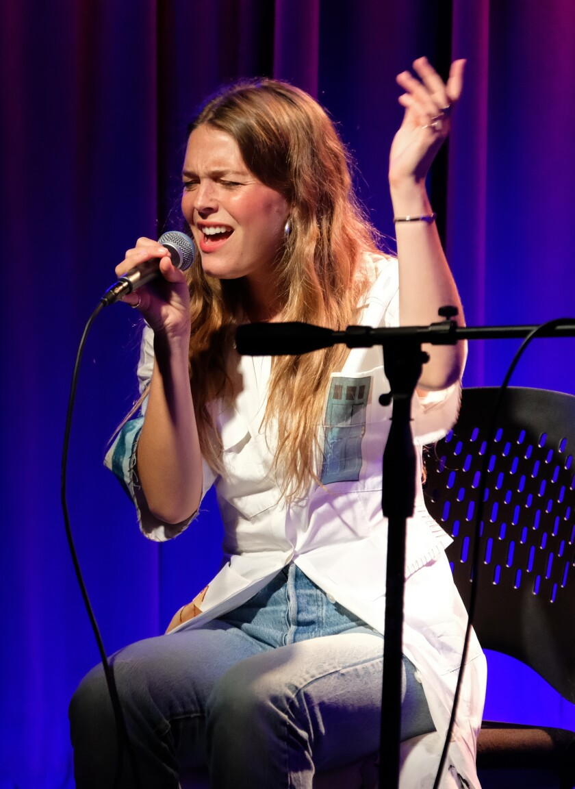 Maggie Rogers Performs At The Grammy Museum