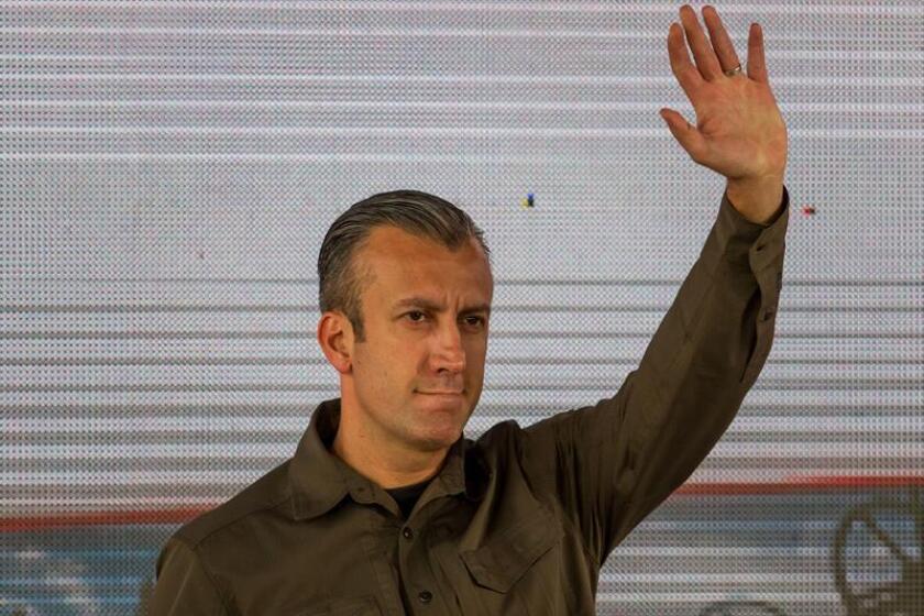 El vicepresidente de Venezuela,Tareck El Aissami, participa de un acto de Gobierno. EFE/Archivo