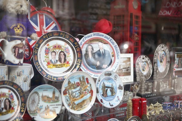 By Whitney Friedlander, Los Angeles Times Does it get any more tchotchke than this? Royal wedding souvenir plates like the ones pictured here are a dime a dozen in London right now. And they might actually cost that much after Prince William marries longtime steady Kate Middleton on April 29 at Westminster Abbey. But don't think these are the only ways to bring a piece of royal history into your own flat. Read on to find out what other material possessions are now branded with the smiling faces of the happy couple.