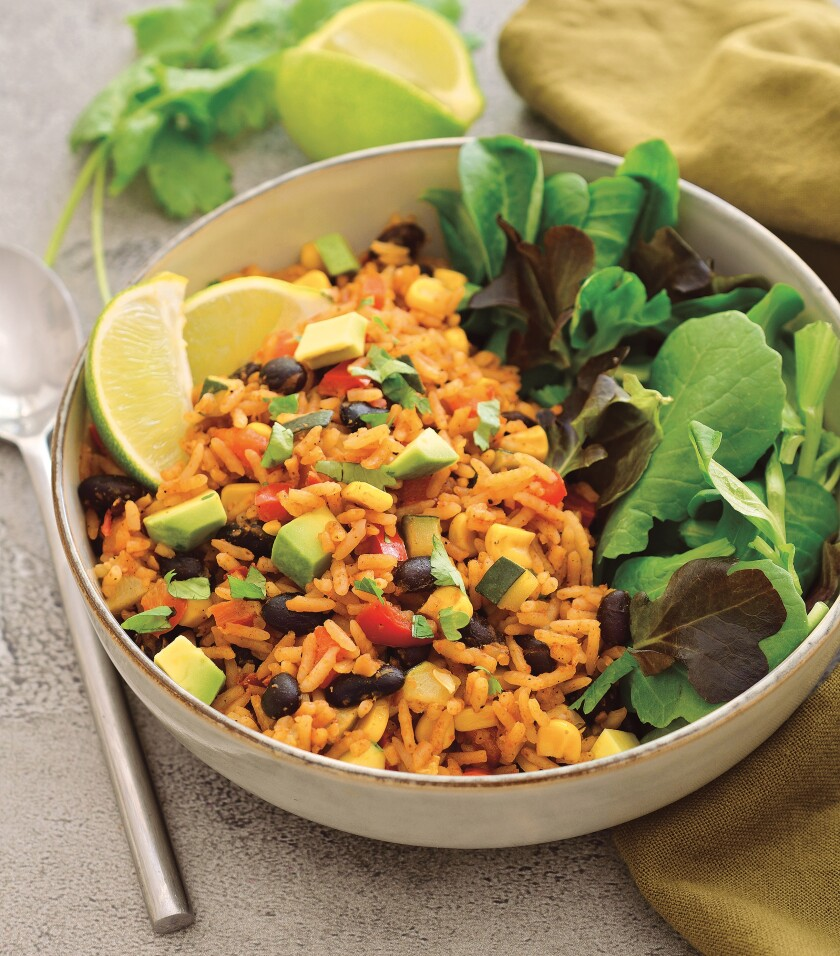 Melissa Copeland's Veggie-Packed Mexican Rice.
