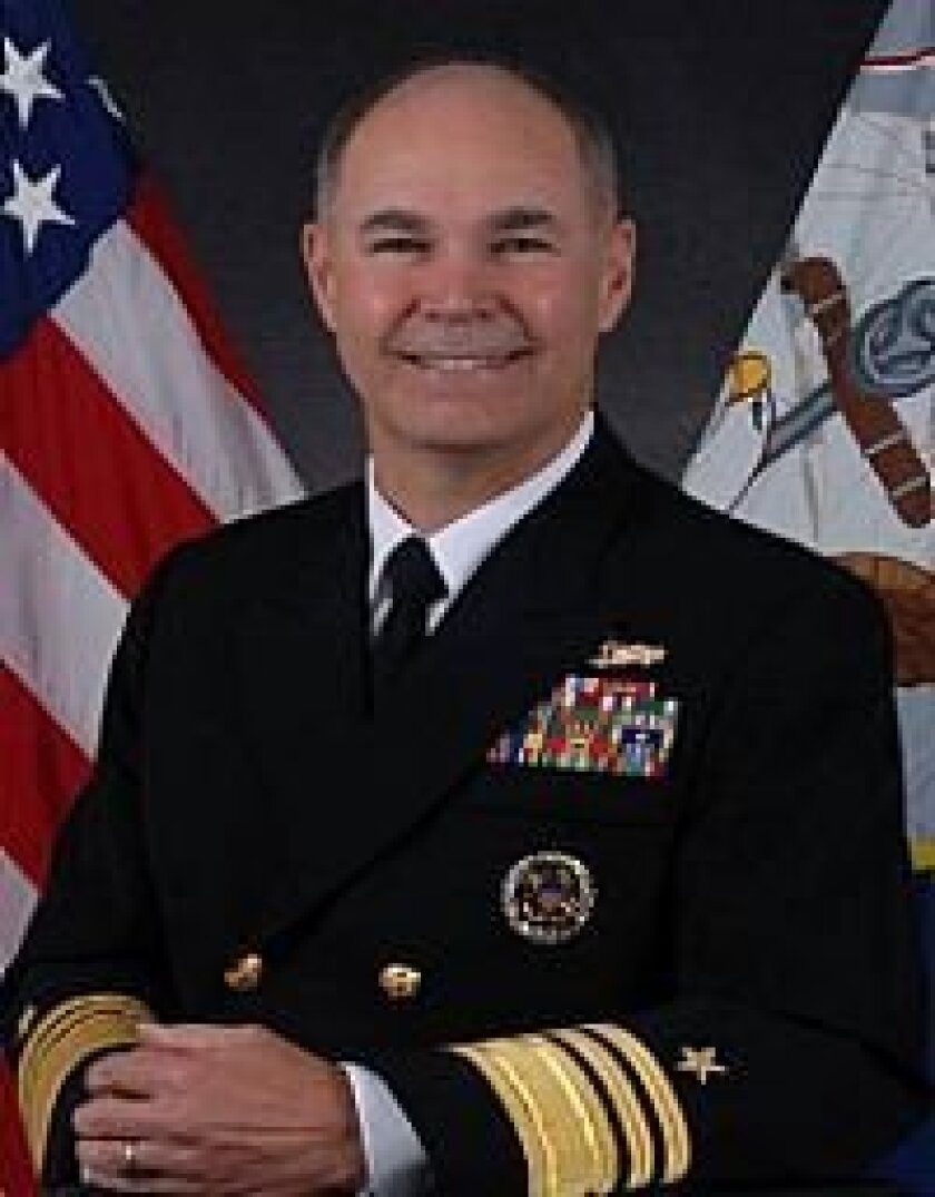 Vice Adm. Richard W. Hunt, former 3rd Fleet commander, now heads Naval Surface Forces.