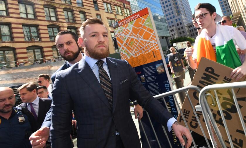 Mixed martial arts fighter Conor McGregor