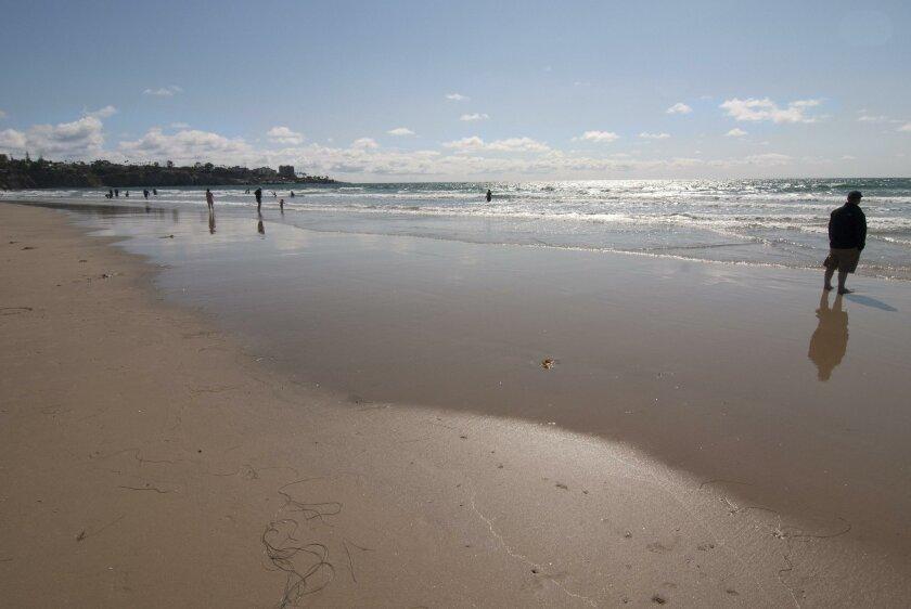 Stroll the beach at La Jolla Shores.