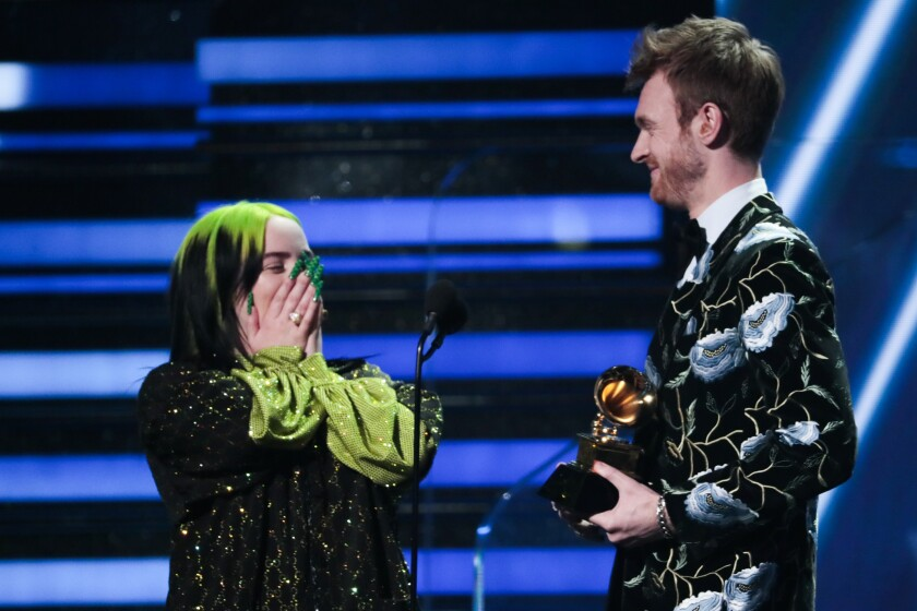Billie Eilish and Fineas O'Connor