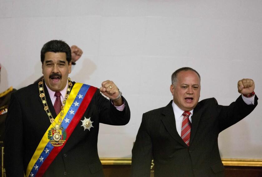 Nicolas Maduro, Diosdado Cabello
