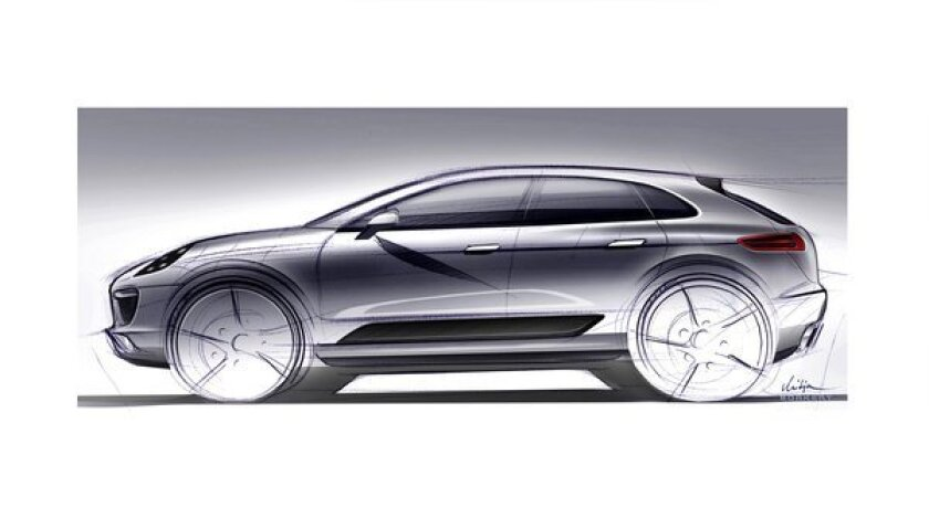 Porsche Macan concept car