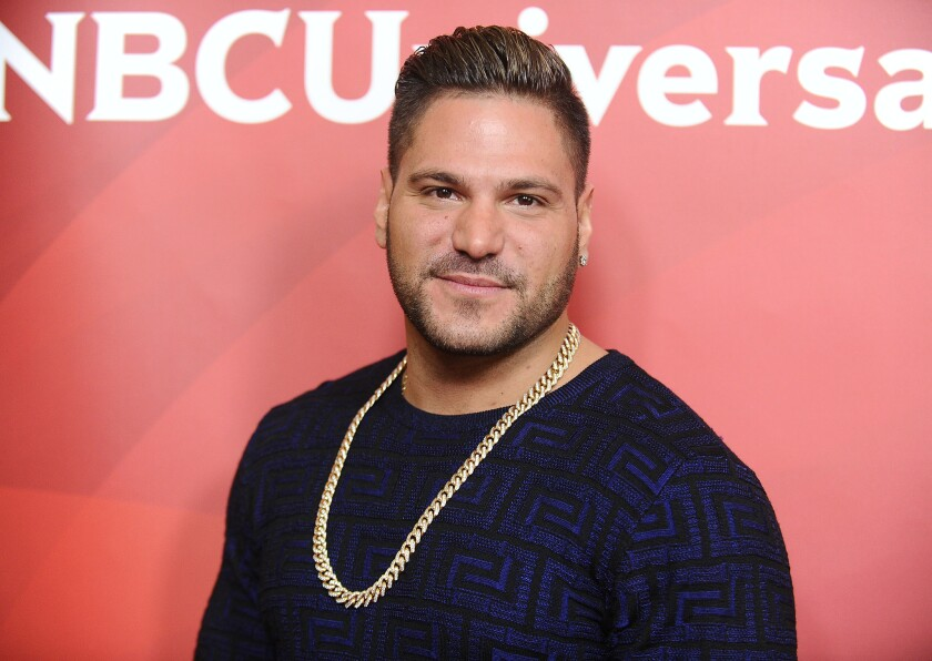 Ronnie Ortiz-Magro's ex-girlfriend told police he hit her, though she was arrested for domestic battery.