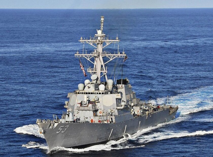 BAE has been performing upgrades and maintenance on the destroyer John Paul Jones.