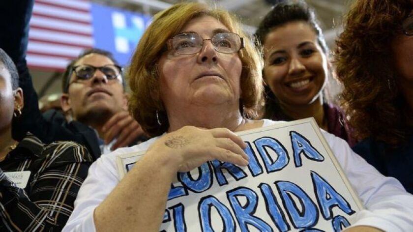 Los 29 votos asignados a Florida podrían ser determinantes en la elección del próximo 8 de noviembre.