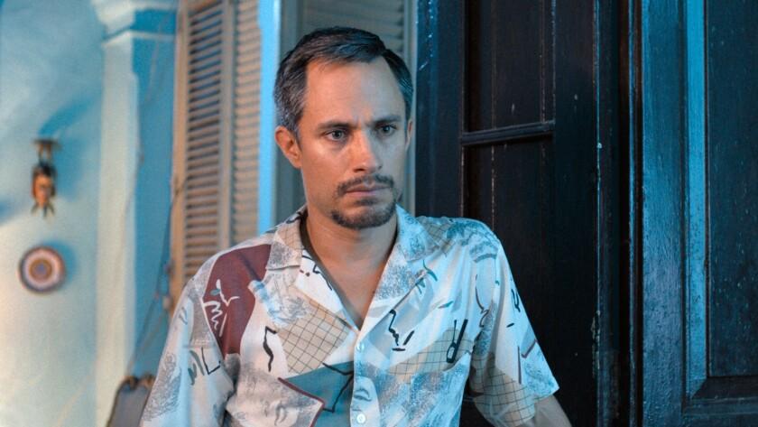 "Gael García Bernal in the movie ""Wasp Network."""
