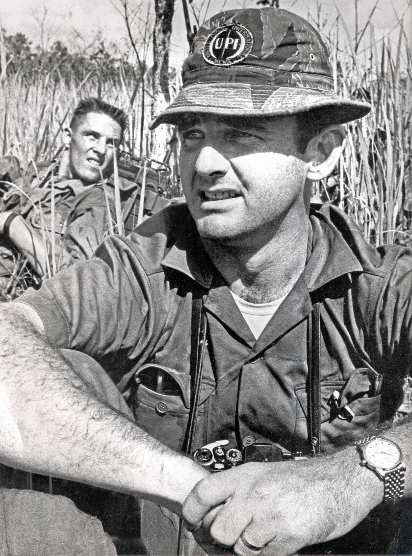 """Ray F. Herndon covered the early days of the Vietnam War for United Press International. Colleague Peter Arnett recalled Herndon as """"a fierce competitor in the daily grind of war coverage in those days, well informed about the military, and fearless in going after stories."""""""
