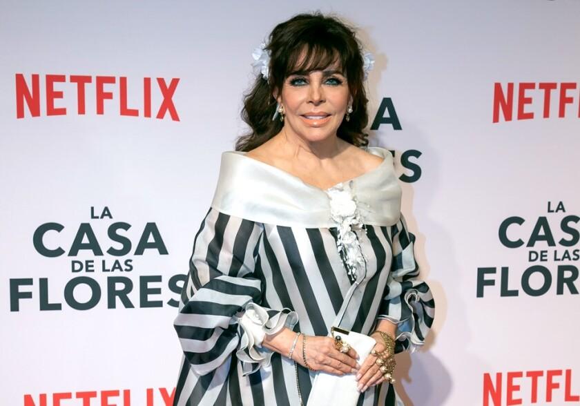 """""""La Vero"""" dijo ya que no estará en la segunda temporada de """"La Casa de las Flores""""."""