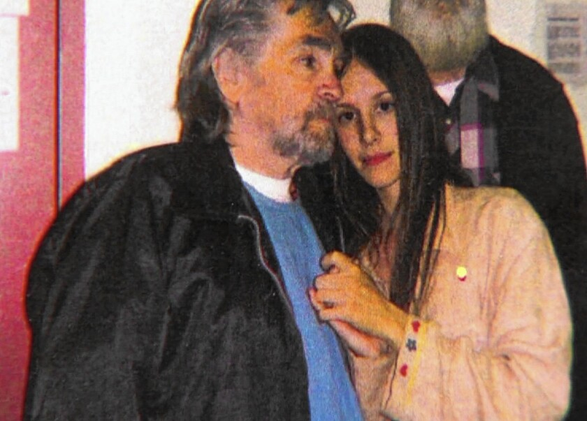 Charles Manson has obtained a license to marry Afton Elaine Burton, 26, who as a teenager moved to California to be near him and has visited him for seven years.