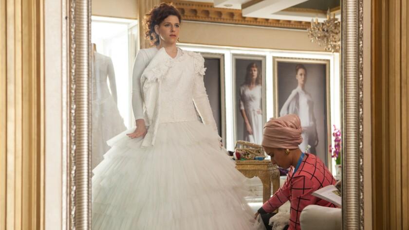 "Noa Koler, left, in the film ""The Wedding Plan."""