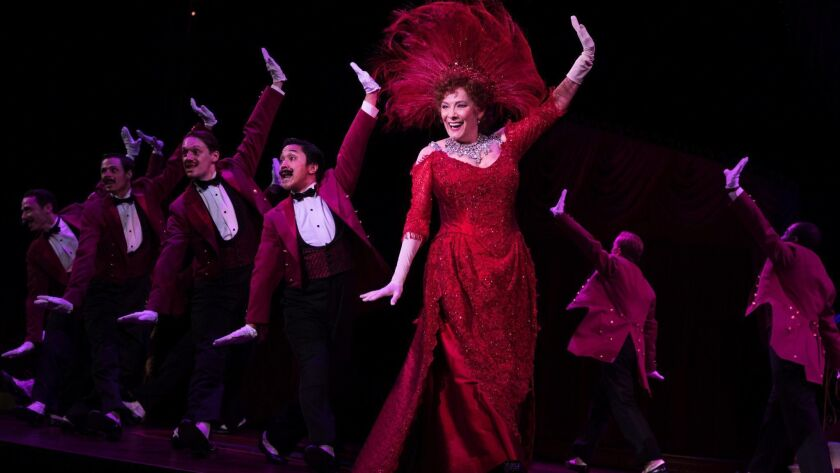 """Betty Buckley in the """"Hello, Dolly!"""" National Tour - 2018. This National Tour of the Tony-Winning B"""
