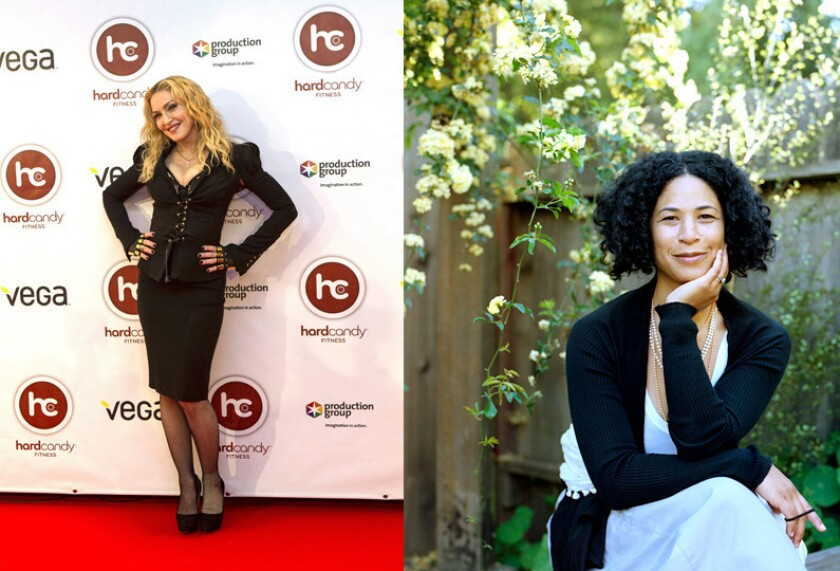 Madonna and Rebecca Walker