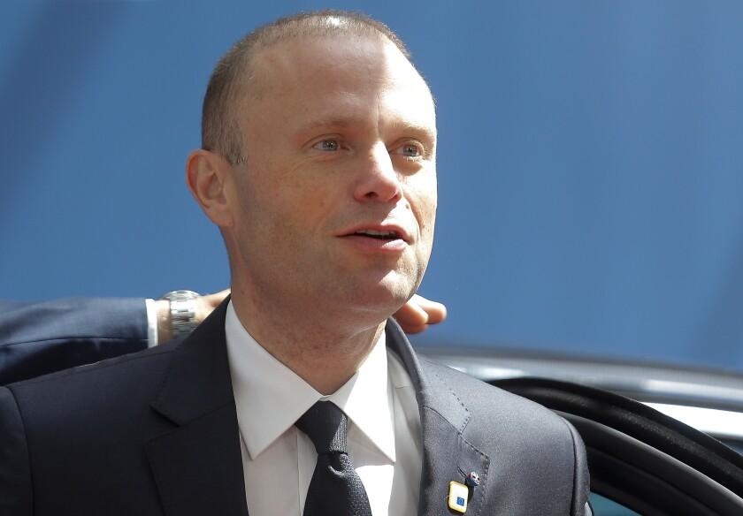 Malta leader resigns