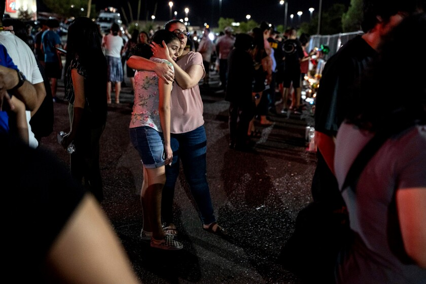 El Paso shooting victims' families and friends fear for their own safety