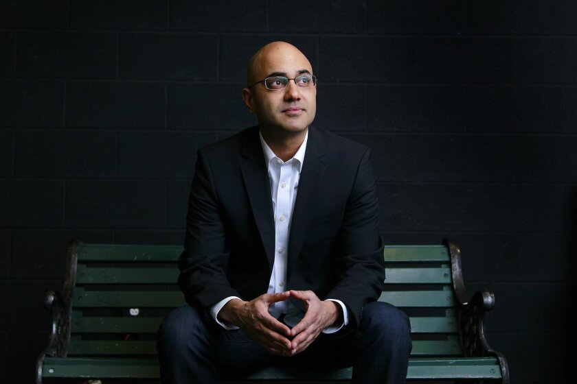 """Ayad Akhtar, who won the 2013 Pulitzer Prize in drama for """"Disgraced,"""" is premiering his latest work at La Jolla Playhouse after it received a first-ever public reading there just last year."""