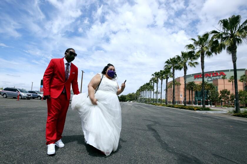 Honda Center weddings