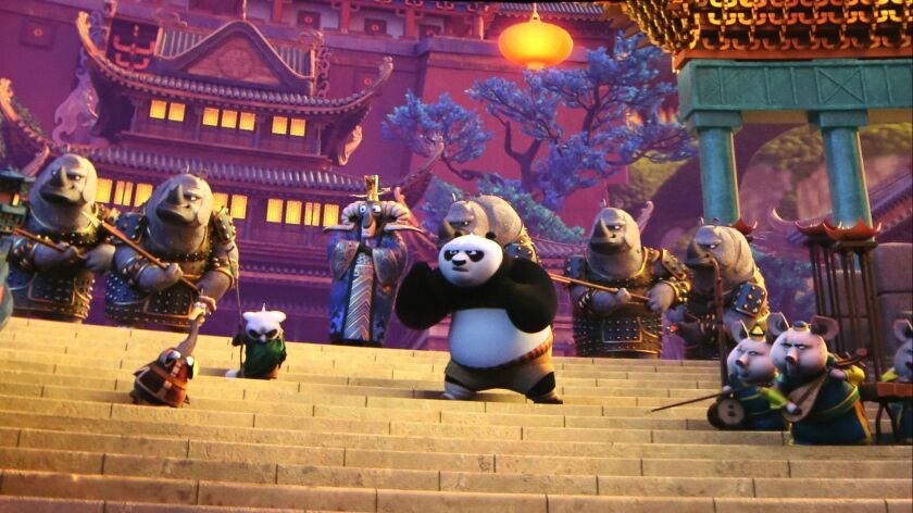 """""""Kung Fu Panda: The Emperor's Quest"""" is at Universal Studios Hollywood."""