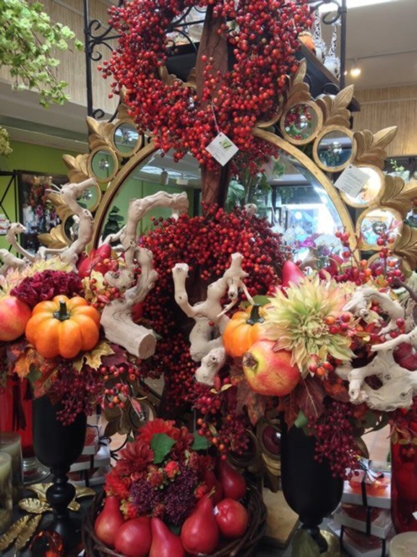 Adelaide's fall sale runs Oct. 12-31 with fall, Halloween and holiday merchandise discounted 10-60 percent. Courtesy Photo
