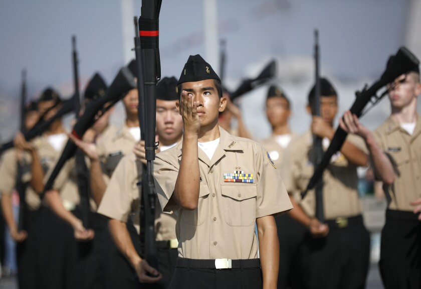 Battle of the Midway Drill Meet