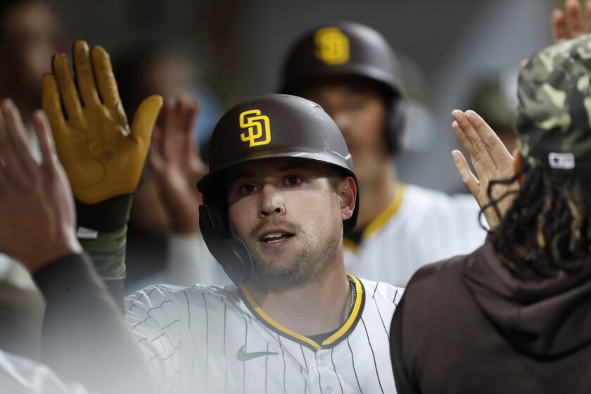 The Padres' Brian O'Grady