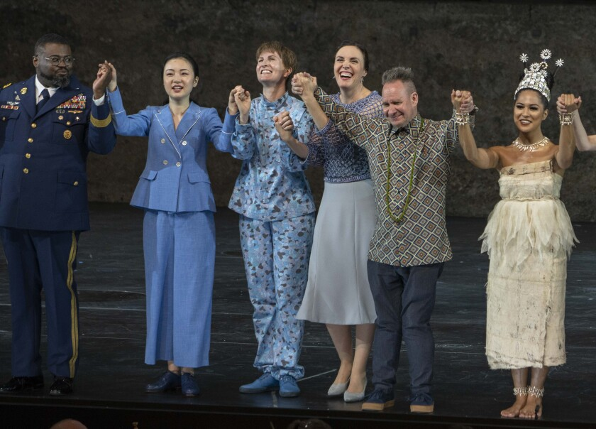"""Idomeneo"" director Peter Sellars at the Salzburg Festival"