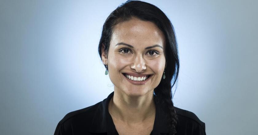 Los Angeles Times staff writer Paloma Esquivel