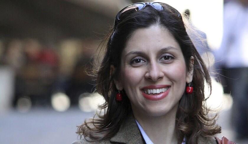 Nazanin Zaghari-Ratcliffe, mujer británica-iraní detenida en Irán.