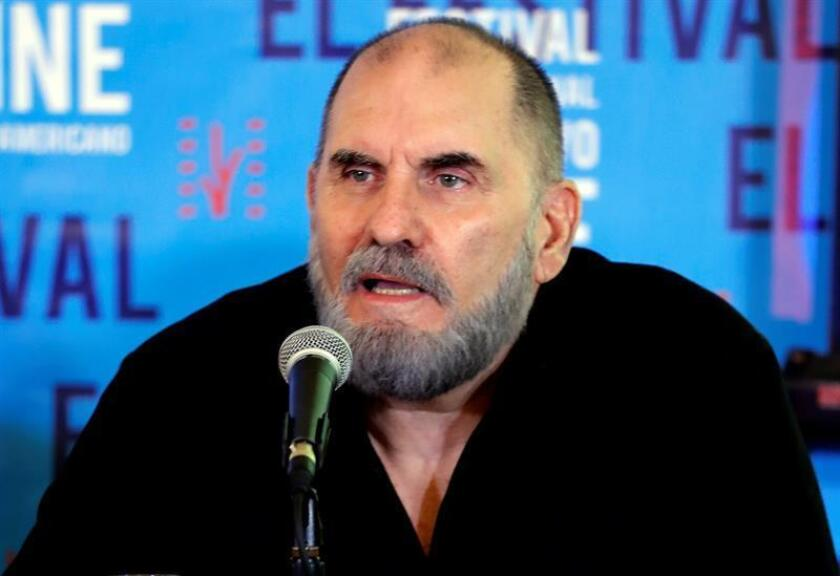 Havana (CUBA), Nov 16, 2018: Festival director Ivan Giroud said at a press conference in Havana that the 40th Festival of New Latinamerican Cinema of Havana will feature films from Michael Moore, Matt Dillon and Geraldine Chaplin. EPA/EFE/ Ernesto Mastrascusa