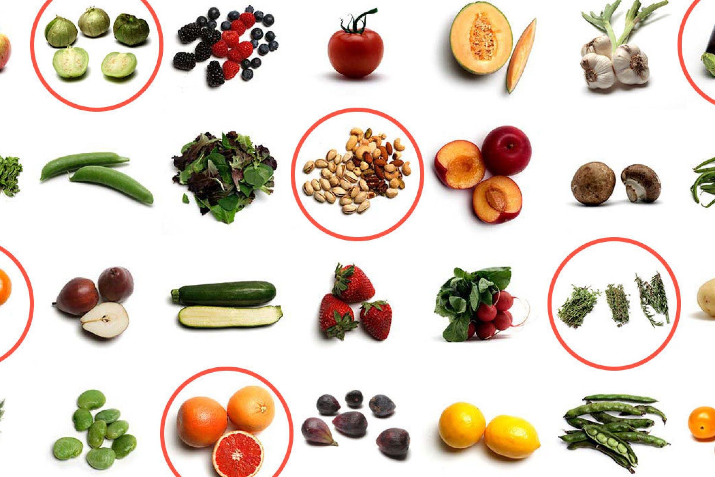 what fruit is in season in april in california